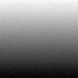 Wektorowy abstrakcjonistyczny czarny i biały kropkowany gradientowy tło Zdjęcia Royalty Free