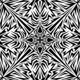 Wektorowy abstrakcjonistyczny czerń wzór Obrazy Stock