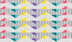 Wektorowy abstrakcjonistyczny geometryczny deseniowy tło Obrazy Stock
