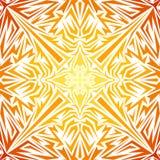 Wektorowy abstrakcjonistyczny koloru żółtego wzór Obraz Royalty Free