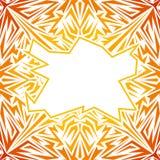 Wektorowy abstrakcjonistyczny koloru żółtego wzór Obrazy Royalty Free