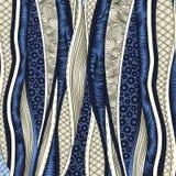 Wektorowy abstrakcjonistyczny kwiecisty dekoracyjny tło. royalty ilustracja