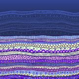 Wektorowy abstrakcjonistyczny kwiecisty dekoracyjny tło ilustracji