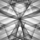 Wektorowy abstrakcjonistyczny monochromu wzoru linii techno eps Zdjęcia Royalty Free