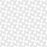 Wektorowy abstrakcjonistyczny tło - przecinający bezszwowy tupocze Obraz Royalty Free