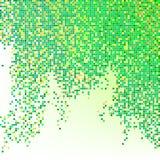 Wektorowy abstrakcjonistyczny tło (kolorów piksle) Fotografia Royalty Free