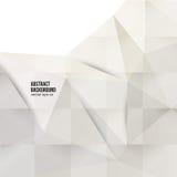 Wektorowy abstrakcjonistyczny tło. Origami geometryczny Obrazy Royalty Free