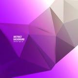 Wektorowy abstrakcjonistyczny tło. Origami geometryczny Zdjęcia Royalty Free