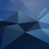 Wektorowy abstrakcjonistyczny tło. Poligonalny wzór Fotografia Stock