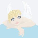 Wektorowy anioł Fotografia Royalty Free