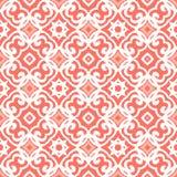 Wektorowy art deco wzór z sznurowanie kształtami Obrazy Stock