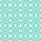 Wektorowy art deco wzór z sznurowanie kształtami Fotografia Stock