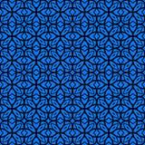 Wektorowy art deco wzór z sznurowanie kształtami Zdjęcia Stock