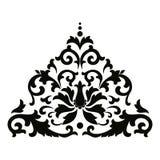 Wektorowy azjata stylu ornament ilustracji