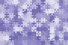 Wektorowy błękit 150 Intryguje kawałek wyrzynarkę Obraz Royalty Free