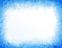 Wektorowy błękita lodu tło royalty ilustracja