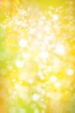 Wektorowy błyskotanie, żółty tło ilustracji