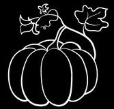 wektorowy bani warzywo Obrazy Royalty Free
