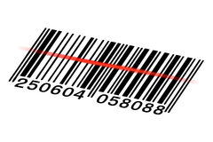 Wektorowy barcode Zdjęcia Royalty Free