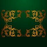 Wektorowy barok roczników elementy dla projekta Zdjęcie Royalty Free