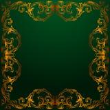 Wektorowy barok roczników elementy dla projekta Obraz Royalty Free