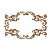 Wektorowy barok roczników elementy dla projekta Fotografia Royalty Free