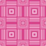 Wektorowy bezszwowy abstrakta kwadrata wzór Obraz Royalty Free