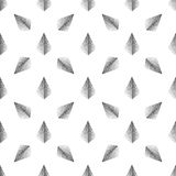 Wektorowy bezszwowy abstrakta wzór z kropkowanym ostrosłupem na białym tle Zdjęcie Stock