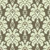 WEKTOROWY BEZSZWOWY adamaszka wzór Bogaty ornament, stary Damascus styl Zdjęcia Stock