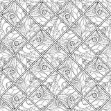 Wektorowy Bezszwowy Barwiony abstrakta wzór Obrazy Stock