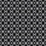 Wektorowy Bezszwowy Czarny I Biały Nieregularny trójbok Wykłada Geometrycznego Deseniowego Abstrakcjonistycznego tło języka arabs Fotografia Stock