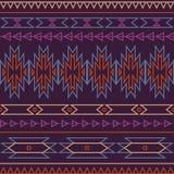 Wektorowy bezszwowy dekoracyjny etniczny wzór Fotografia Royalty Free