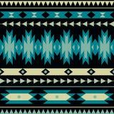 Wektorowy bezszwowy dekoracyjny etniczny wzór Obraz Stock