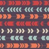 Wektorowy bezszwowy dekoracyjny etniczny wzór Obrazy Stock