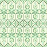 Wektorowy bezszwowy geometrical plemienny spojrzenie wzór royalty ilustracja