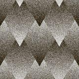 Wektorowy bezszwowy geometryczny kropkowany wzór Zdjęcie Royalty Free