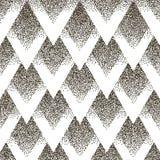 Wektorowy bezszwowy geometryczny kropkowany wzór Halfton Zdjęcie Royalty Free