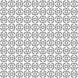 Wektorowy bezszwowy geometryczny wzór kreskowa tekstura Czarno biały tło Monochromatyczny projekt ilustracja wektor