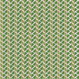 Wektorowy bezszwowy jaskrawy wzór z kwiecistymi elementami Rysujący brzęczeniami Obraz Stock