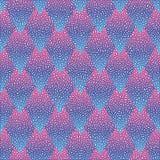 Wektorowy bezszwowy kolorowy abstrakcjonistyczny geometryczny kropkowany wzór Fotografia Royalty Free