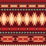 Wektorowy bezszwowy kolorowy dekoracyjny etniczny wzór Obraz Stock