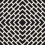 Wektorowy Bezszwowy linia wzór Nowożytna elegancka abstrakcjonistyczna tekstura Wielostrzałowe geometryczne płytki z lampasów ele Zdjęcia Stock
