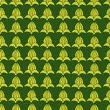 Wektorowy bezszwowy ornamentacyjny wzór Obraz Stock