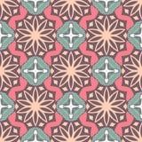 Wektorowy Bezszwowy Pastelowego koloru geometrii wzór Obrazy Stock