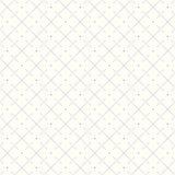 Wektorowy bezszwowy rhombus wzór z kropkowanymi liniami ilustracja wektor