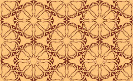 Wektorowy bezszwowy symmetric wzór Fotografia Royalty Free