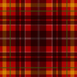 Wektorowy bezszwowy szkocki tartanu wzór Ilustracja Wektor