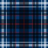 Wektorowy bezszwowy szkocki tartanu wzór Ilustracji