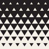 Wektorowy Bezszwowy trójboka Halftone gradientu wzór ilustracja wektor