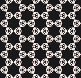 Wektorowy bezszwowy wzór, abstrakcjonistyczna geometryczna kwiecista mozaiki tekstura ilustracji